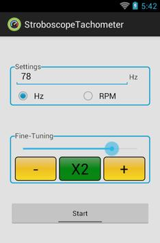 Strobe-Tachometer screenshot 8