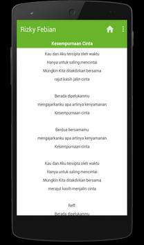 Karaoke Lagu Rizky Febian screenshot 2