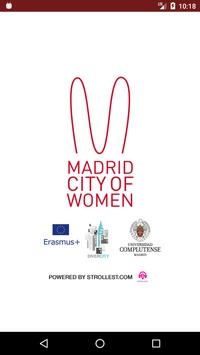 Madrid city of women poster