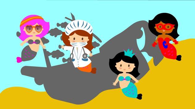 Chloé, little mermaid. screenshot 2