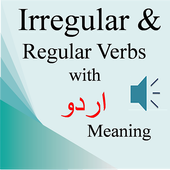 Irregular & Regular Verbs Urdu icon