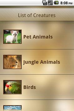 Animal Sound apk screenshot