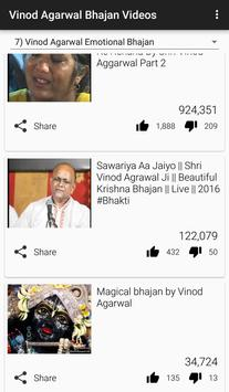 Vinod Agarwal Bhajan Videos screenshot 4