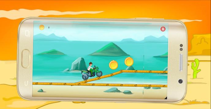 Ben Bike 10 Racing apk screenshot