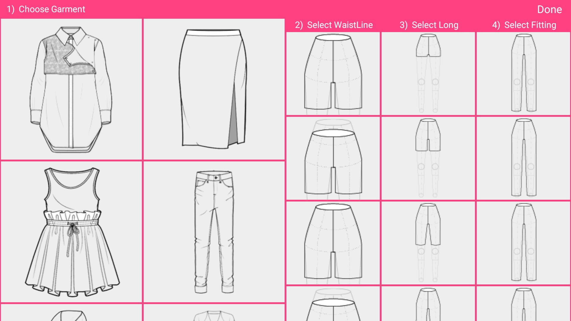 Fashion Design Flat Sketch Fashion Designing App For Android Apk Download
