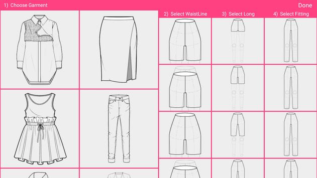 Fashion Design Flat Sketch - Fashion Designing App screenshot 10