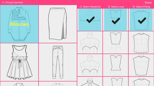 Fashion Design Flat Sketch - Fashion Designing App screenshot 1