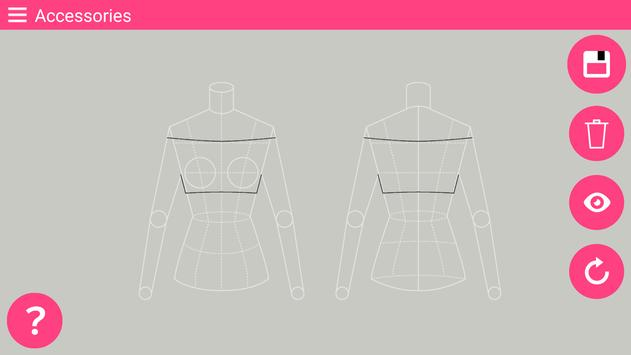Fashion Design Flat Sketch - Fashion Designing App screenshot 2
