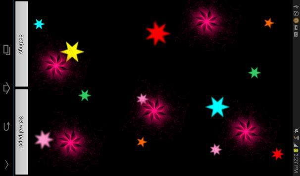 Radiant Flowers LWP Free screenshot 4