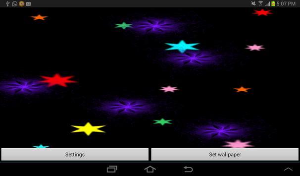 Radiant Flowers LWP Free screenshot 5
