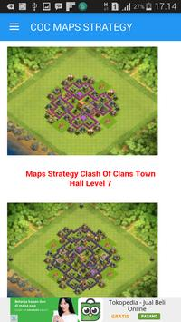 Maps Strategy Clash Of Clans apk screenshot
