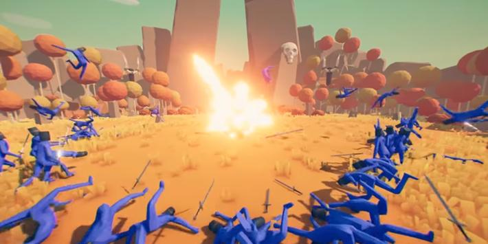 Strategy Totally Accurate Battle Simulator captura de pantalla 4
