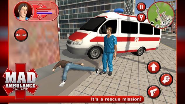 Mad Ambulance Simulator screenshot 10
