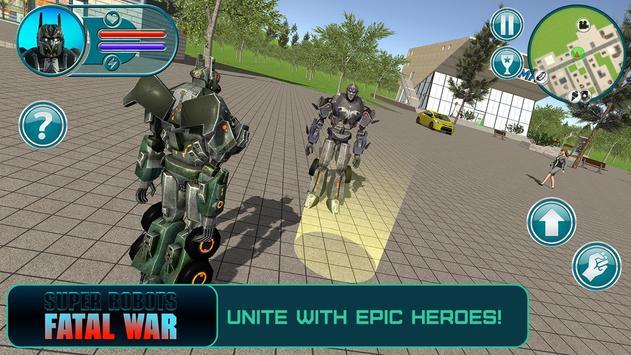 Super Robots: Fatal War apk screenshot