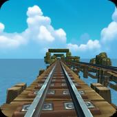 VR Rail Race icon