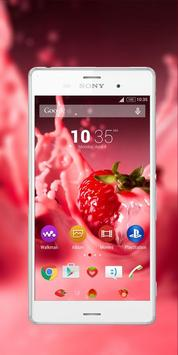 Strawberry-Xperia-theme poster
