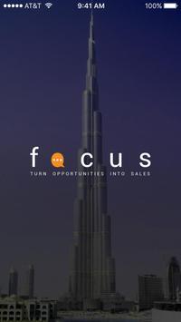 FOCUS CRM poster