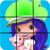 Strawberry Girl's Puzzle icon
