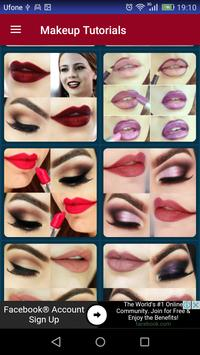 Makeup Tutorials screenshot 20