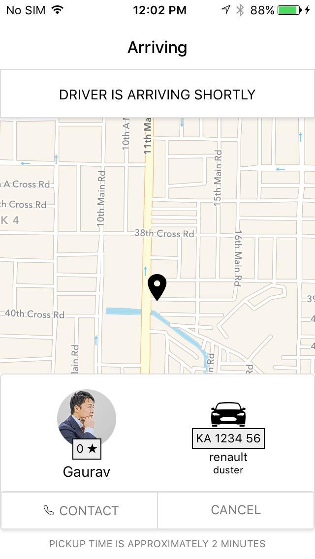React Native Taxi app demo para Android - APK Baixar