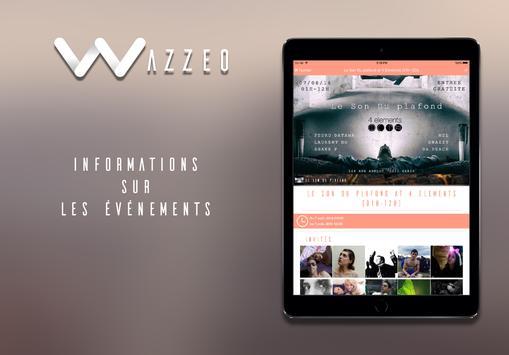 Wazzeo, trouvez les événements apk screenshot
