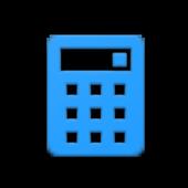 Calc Blue icon