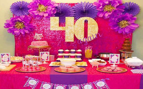 Diy Party Decorations Design apk screenshot
