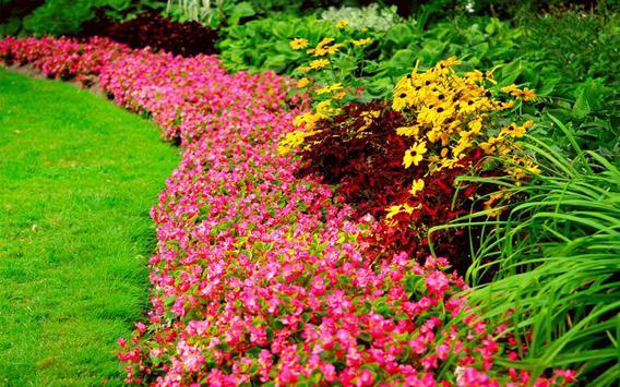 Flower Garden Design poster