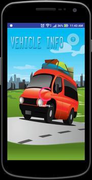 VehicleInfo - RTO poster