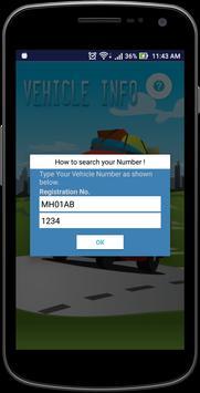 VehicleInfo - RTO screenshot 1