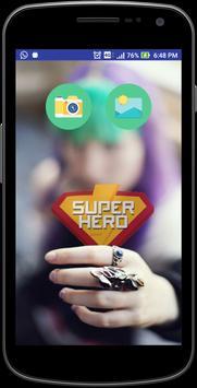 SuperHero Face Swap poster