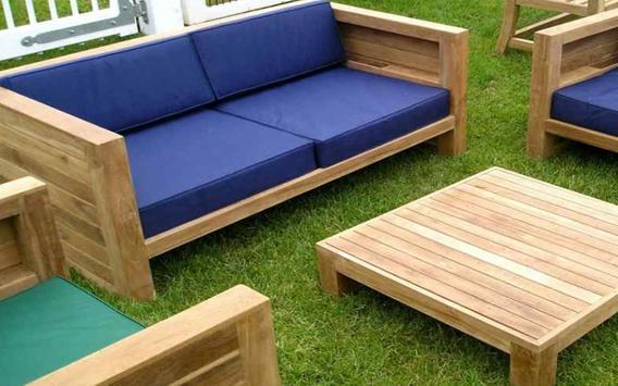 Wooden Garden Design apk screenshot