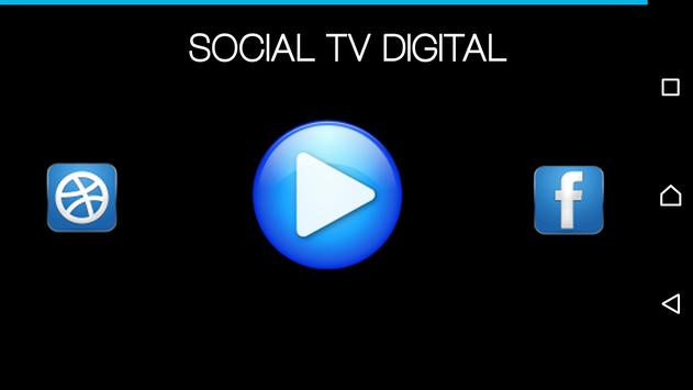 SOCIAL TV DIGITAL poster