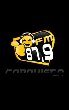 Rádio Conquista FM 87.9 poster
