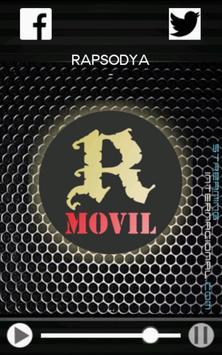 RAPSODYA Metal Radio poster