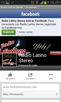 Radio Latino Stereo screenshot 2