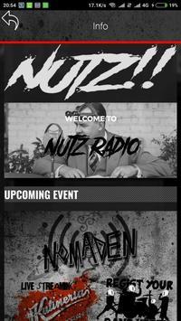 Nutz! Radio screenshot 2