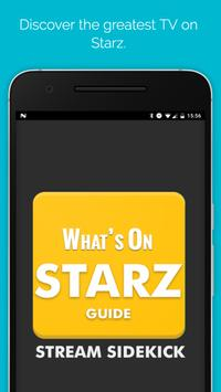 What's on Starz Guide poster