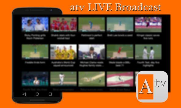 Free atv LIVE Broadcast Advice poster