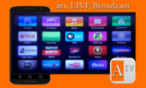 Free atv LIVE Broadcast Advice apk screenshot
