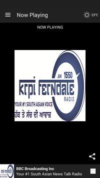 KRPI Ferndale 1550 AM poster