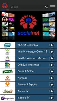 Socialnet TV apk screenshot