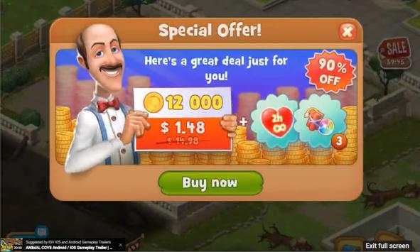 New; Tip Gardenscapes & Gardenscapes New Arces screenshot 5
