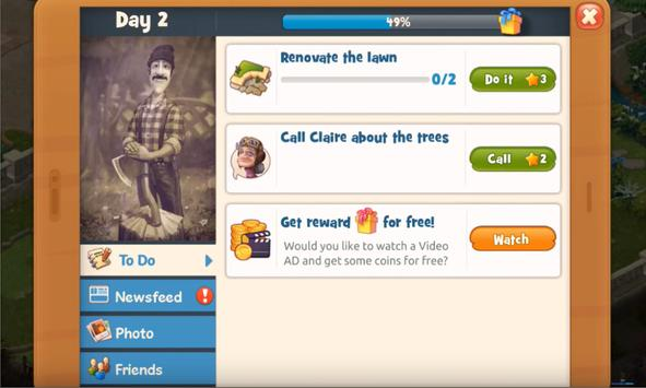 New; Tip Gardenscapes & Gardenscapes New Arces screenshot 7
