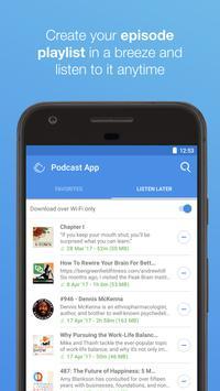 Podcast App apk screenshot