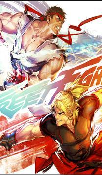 Street Fighter Wallpaper Full HD 2k18 poster