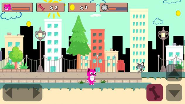 Super Cat vs City Enemies-best cat games apk screenshot