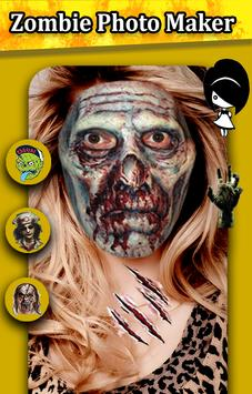 Zombie Photo Maker Booth poster