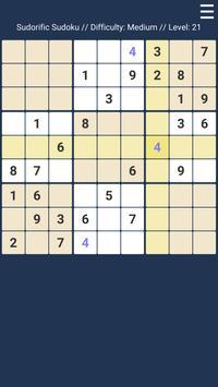 Sudorific Sudoku apk screenshot