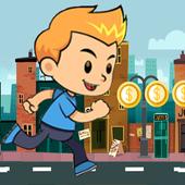 Street Runner Boy - city game icon